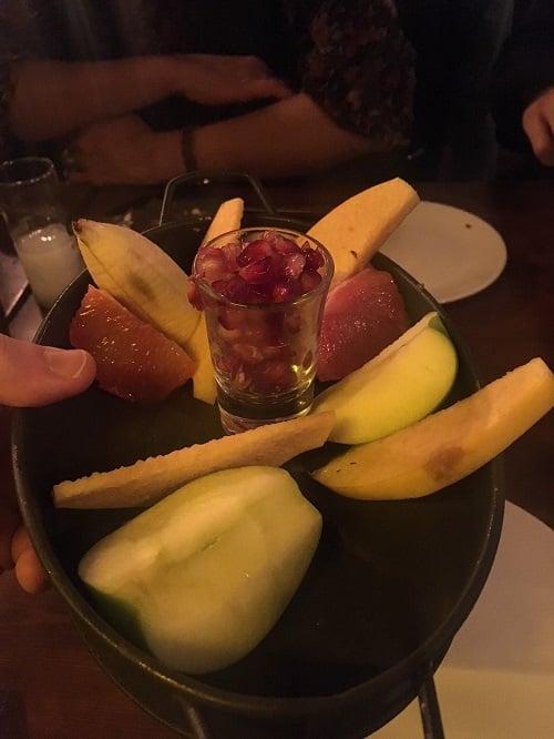 Afitap Meyhane Meyve Tabağı
